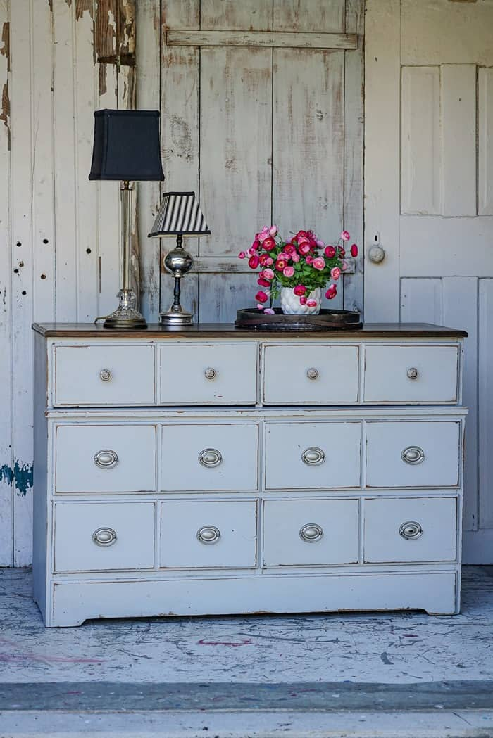 How to Make Painted Furniture Your Own Without Painting