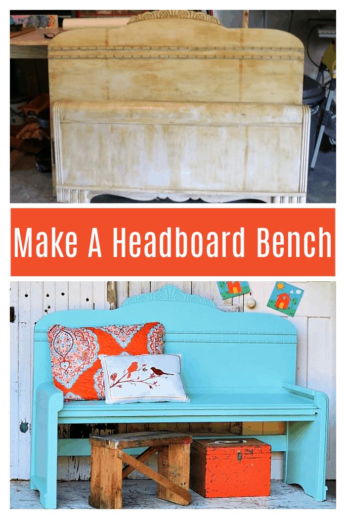 Make a headboard bench