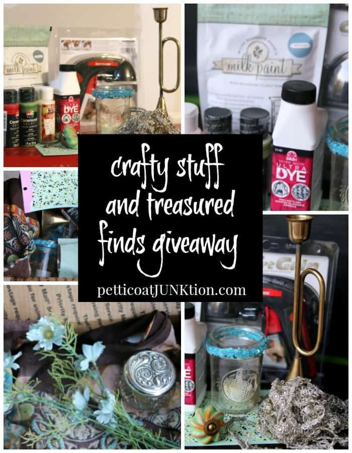 crafty stuff and treasured finds giveaway