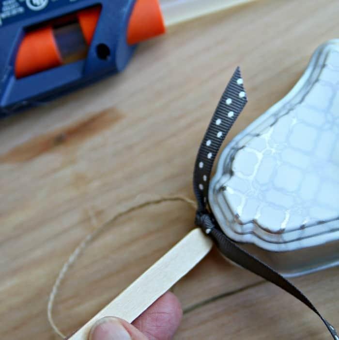 hot glue for hanger