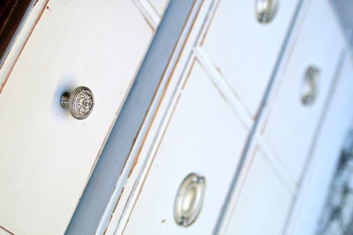 silver furniture hardware