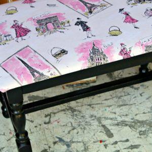 padded stool seat