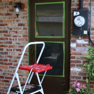 paint exterior metal door