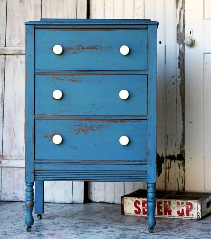 Get The Look Of Naturally Chipped Paint With Milk Paint