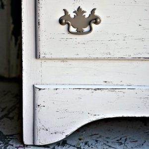 How To Paint Problem Furniture To Look Distressed Without Sanding