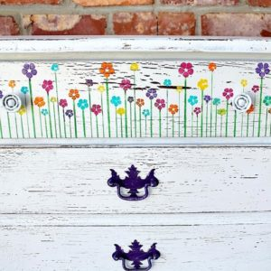 Make It Work With Purple Paint And Blooming Flowers