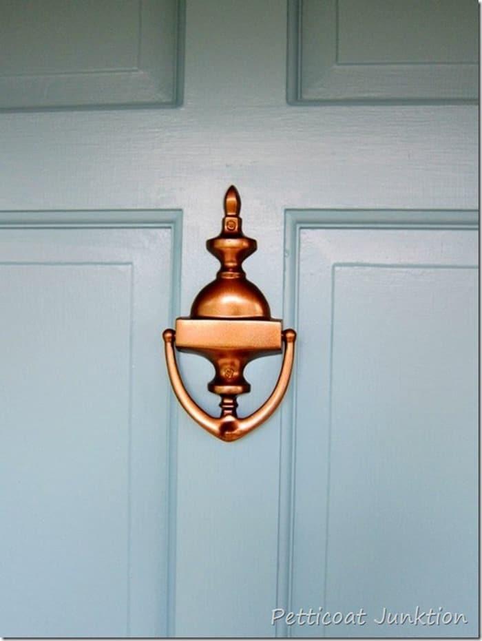 antique bronze spray piant for door hardware