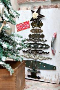 hardware Christmas tree
