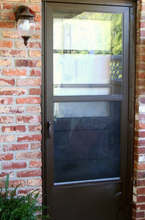 Paint an exterior metal door like a professional petticoat junktion for What kind of paint to use on exterior metal door