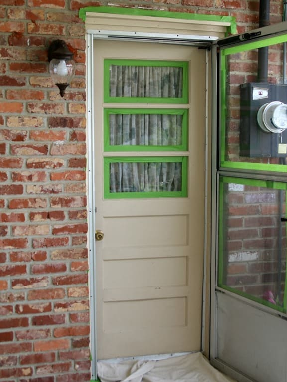 Paint An Exterior Metal Door Like A Professional Petticoat Junktion