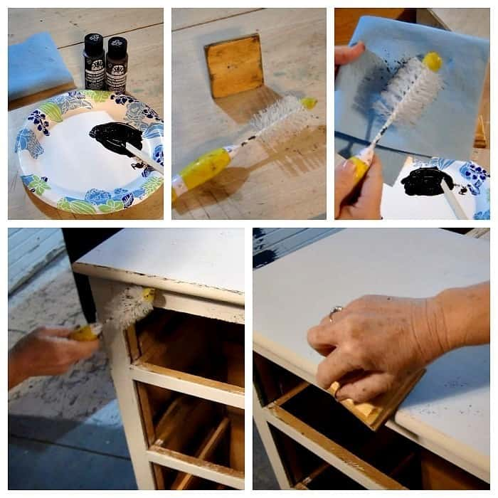 painting furniture step by step
