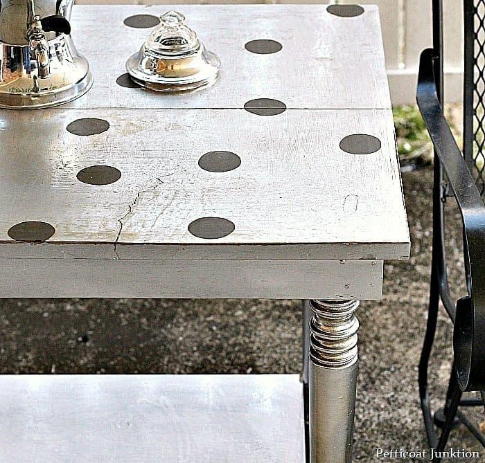 rustoleum bright coat metallic for furniture project