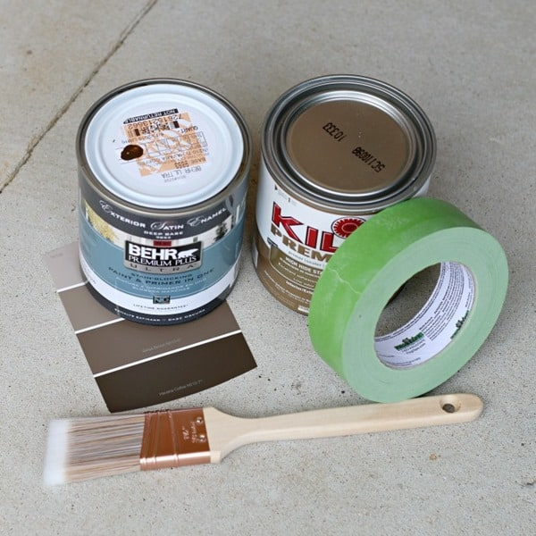 supplies for painting exterior metal doors like a professional