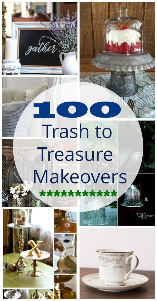 100 Trash to Treasure Makeovers from thrift store finds
