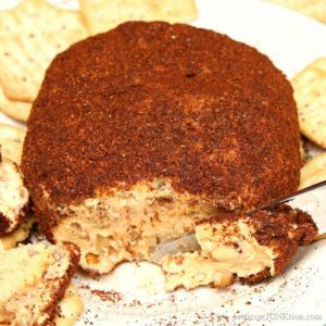 Chili Powder Pecan Cheese Ball