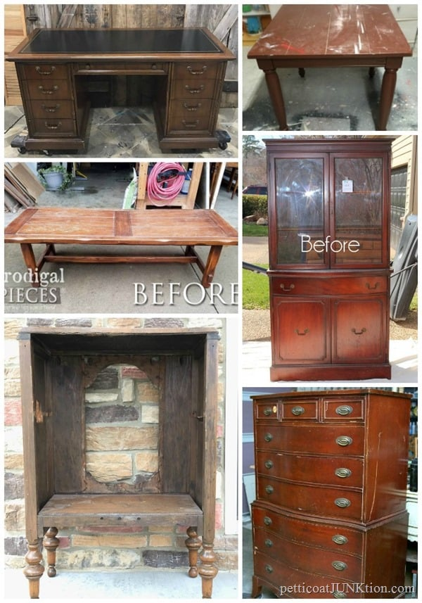 Furniture Fixer Upper Makeovers With Sass Petticoat Junktion