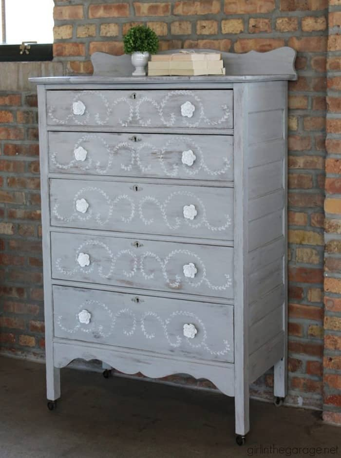 IMG_7436-chalk-paint-stenciled-highboy-makeover-768x1031