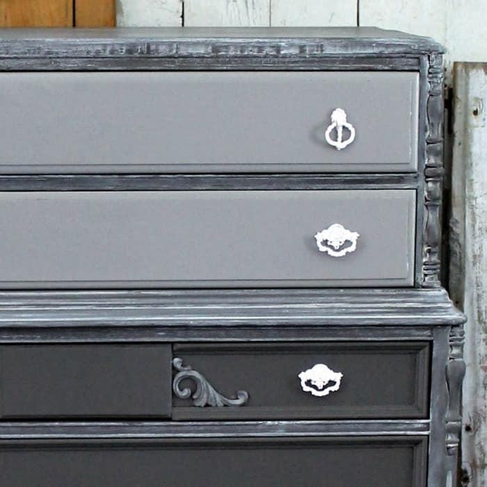 spray paint furniture hardware, Whitewash Paint Tutorial For Furniture