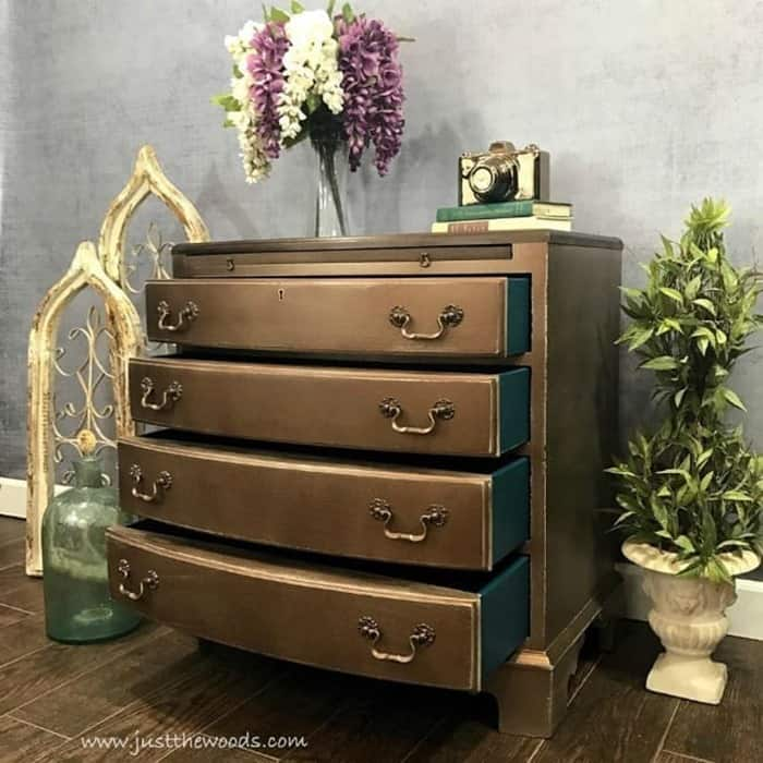 vintage-chest-painted-bronze-and-teal-1