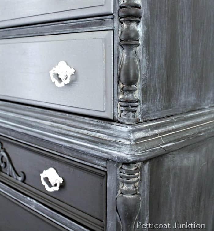 whitewash furniture details