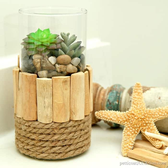 nautical style plant container