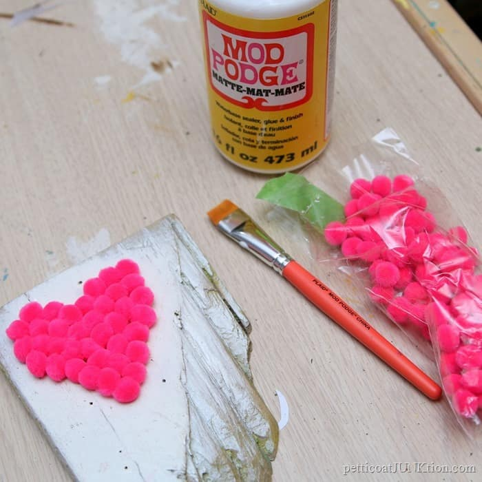 Itsy Bitsy Fuchsia Pom Poms And Sea Glass & Never Before Seen Projects