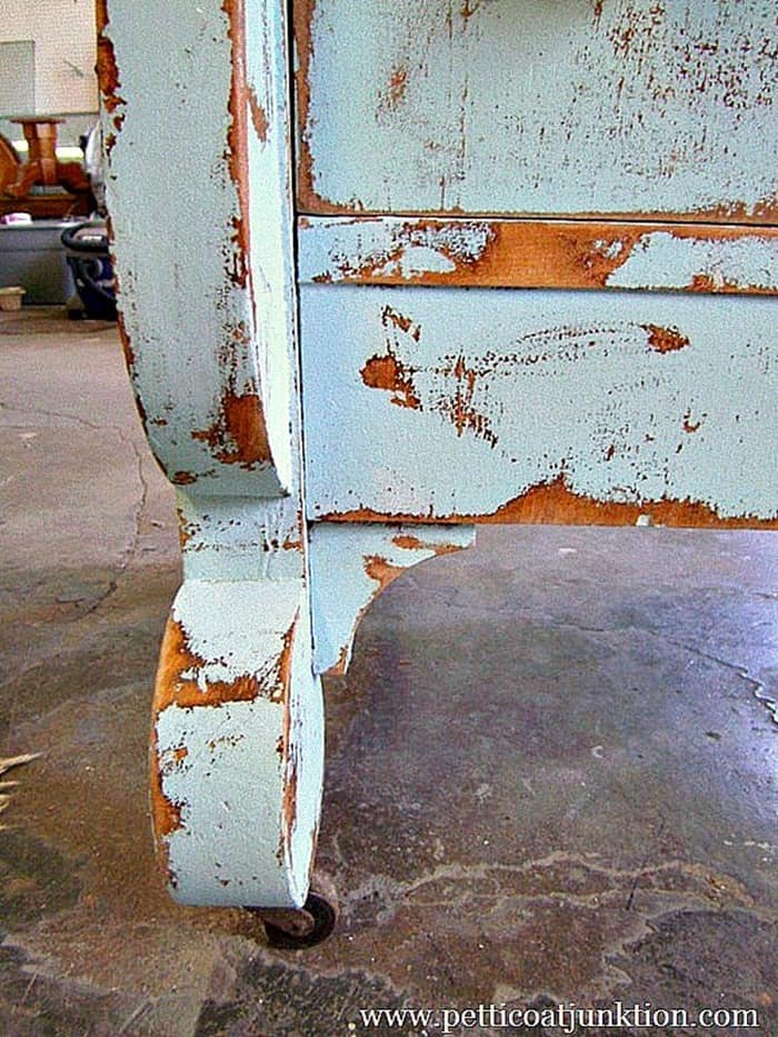 pretty distressed paint