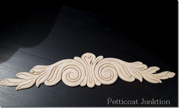 unfinished wood applique