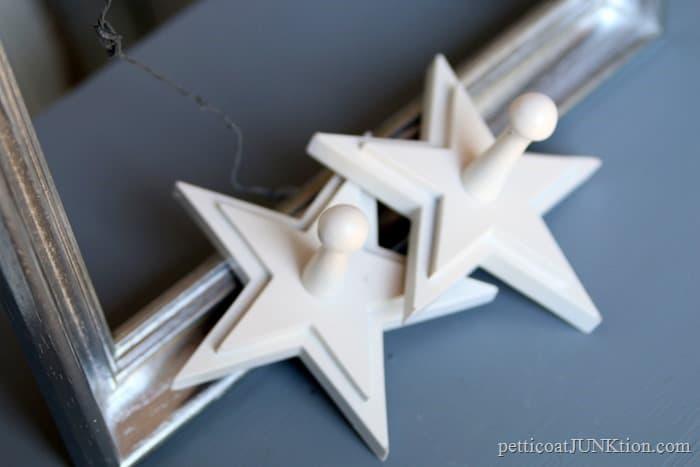 wood star hangers