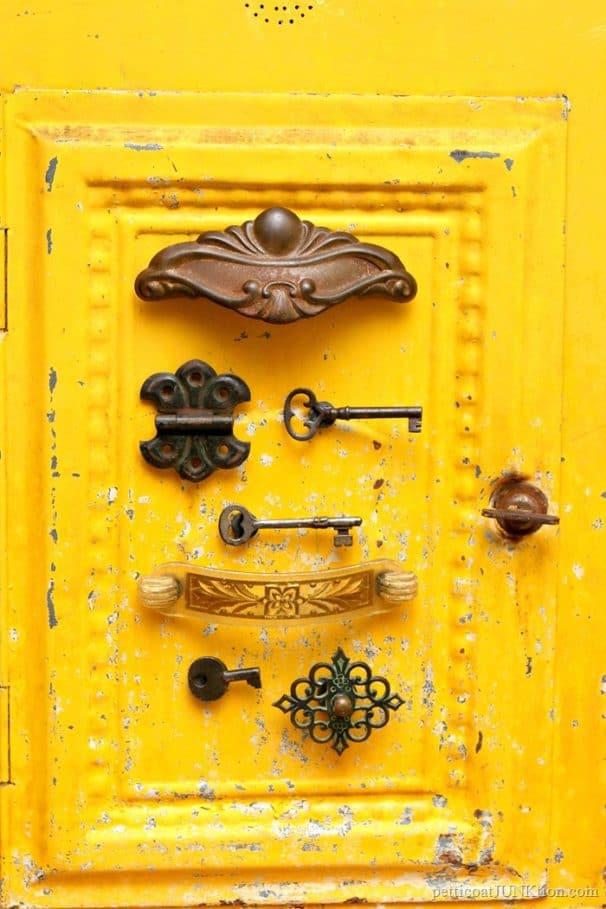 diy vintage magnets