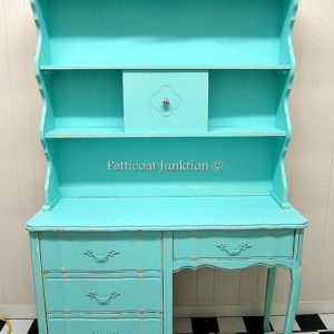 Turquoise Furniture Makeovers