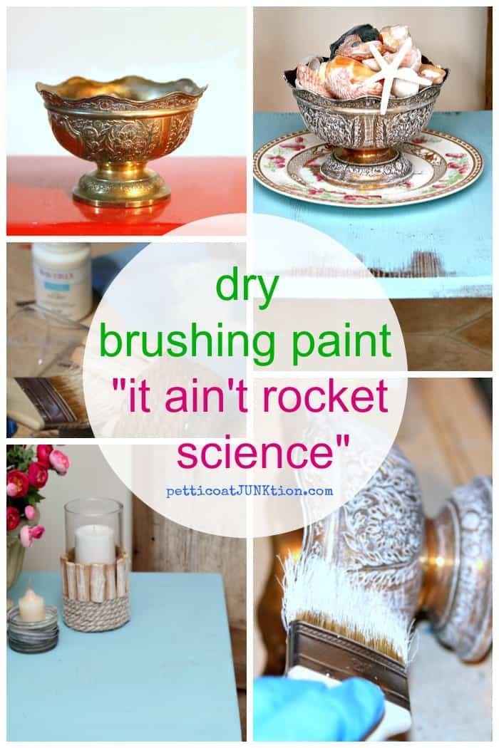 Dry Brushing Paint Isn't Rocket Science