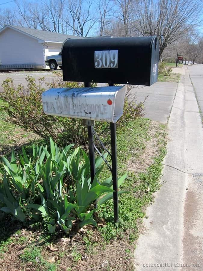 Mailbox needs a makeover