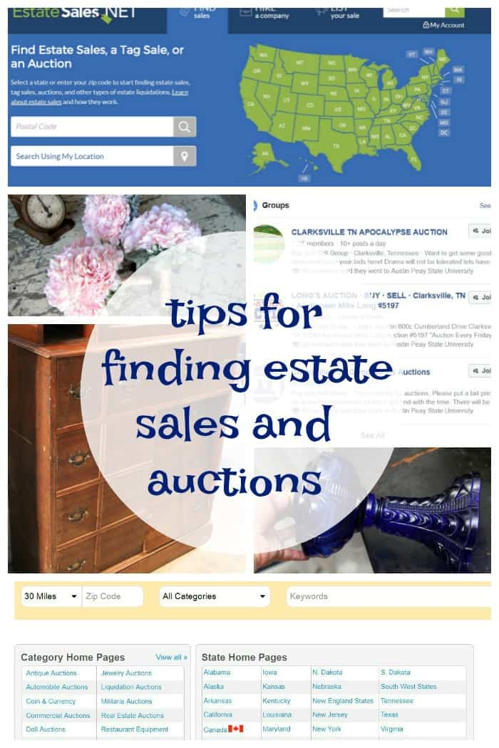 Tips For Finding Estate Sales And Auctions