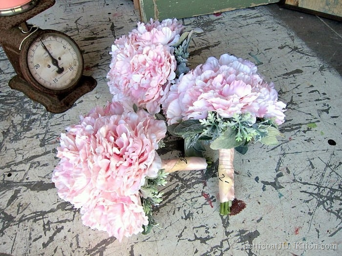 What Do Flower Posies And An Antique Wood Wrench Box Have In Common