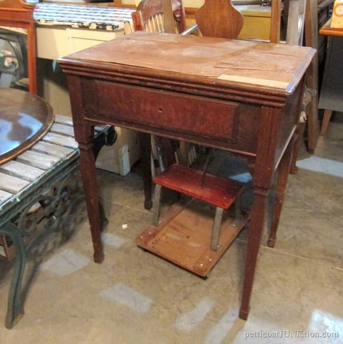 Antique Sewing Machine Takedown