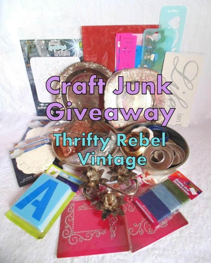 Craft-Junk-Giveaway-Thrifty-Rebel-Vintage-April-2018