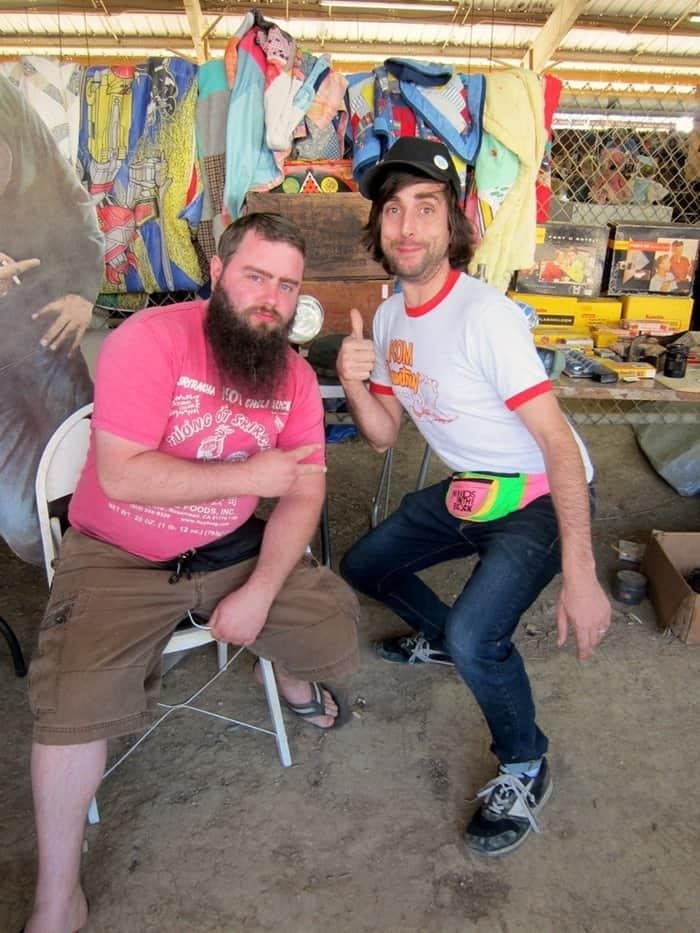 Eric and Caleb vendors at the Nashville Flea Market