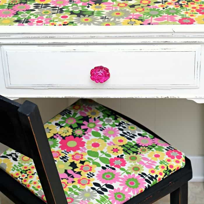 How To Use Mod Podge On Fabric And Furniture Decoupage Tutorial