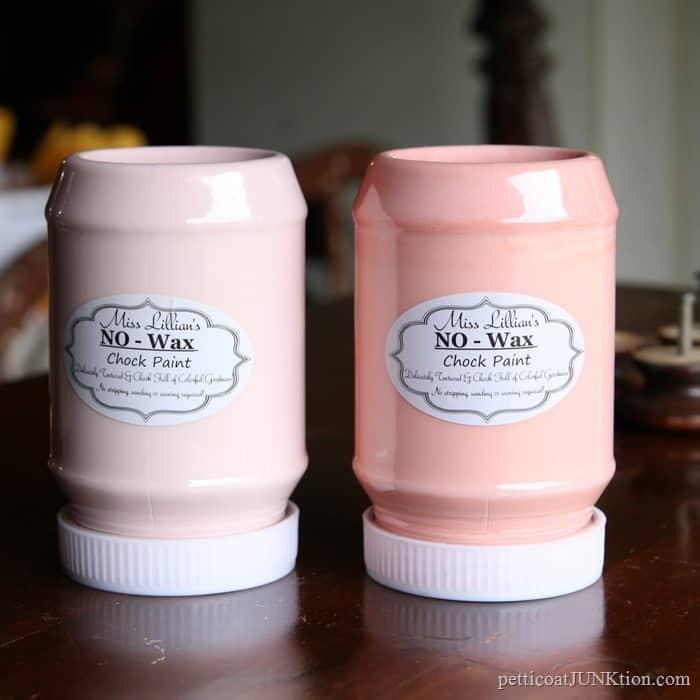 Miss Lillian's No-Wax Chock Paint