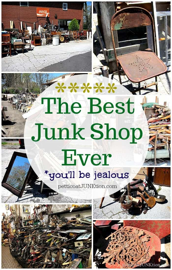 My Favorite Junk Shop has great prices and the best junk treasures. You'll be jealous.