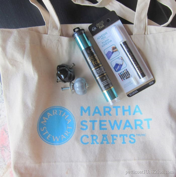 craft supplies and tote bag giveaway