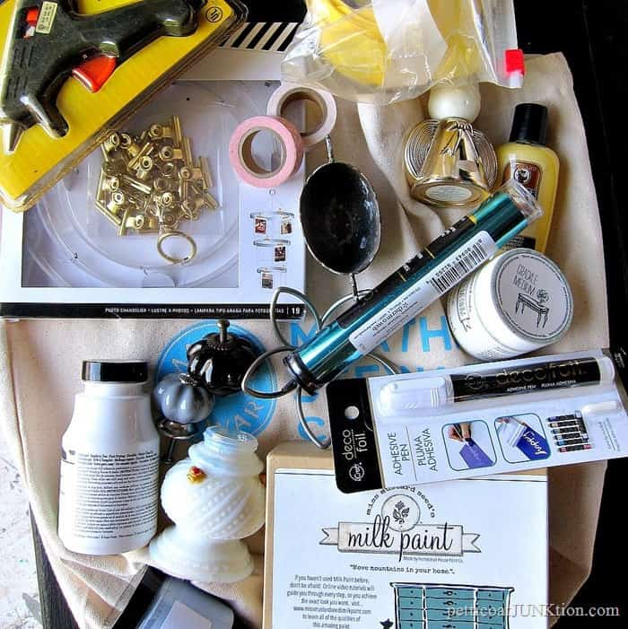 tote and craft supply giveaway