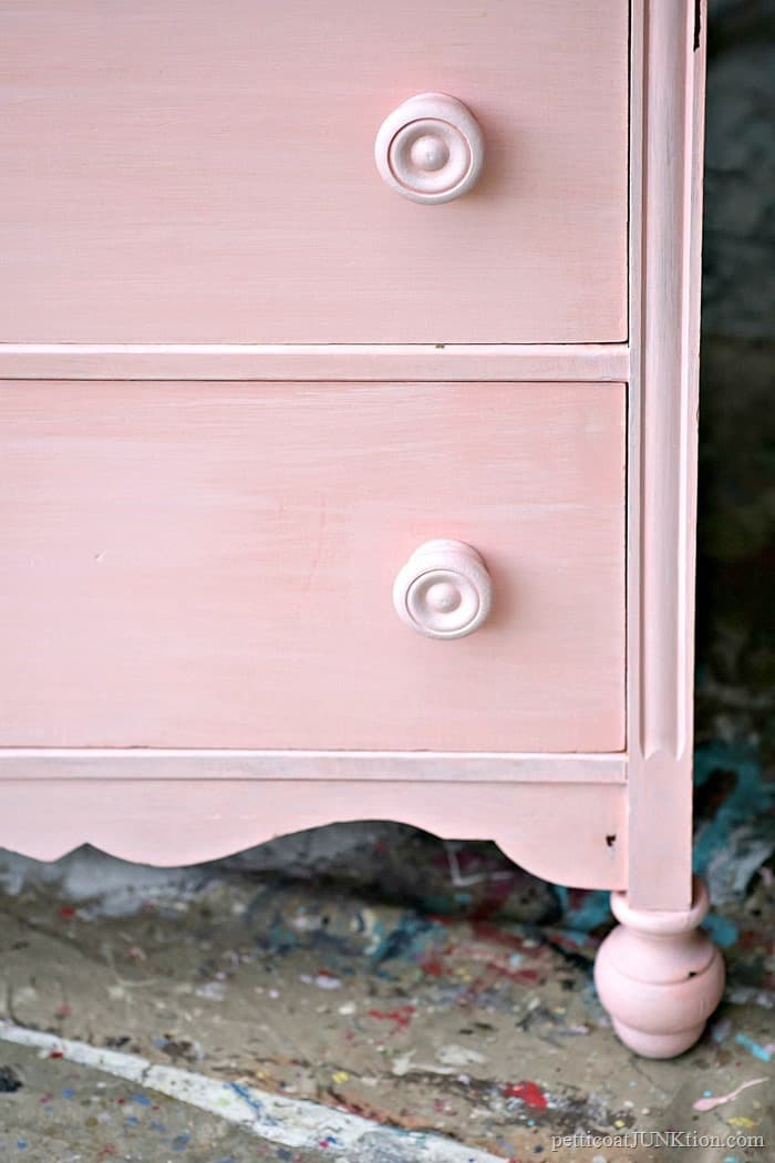 two tone pink paint