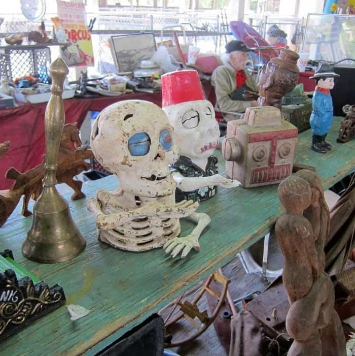 unique items at the Nashville Flea Market spotted by Petticoat Junktion