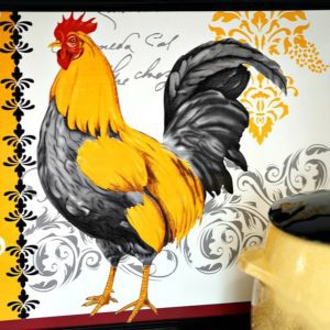 $2 Rooster Wall Decor DIY | Dollar Store Crafts