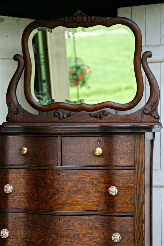 Antique Furniture Refurbished Instead Of Painted