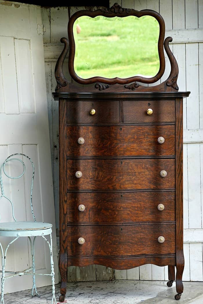 Antique Furniture Restored Instead Of Painted