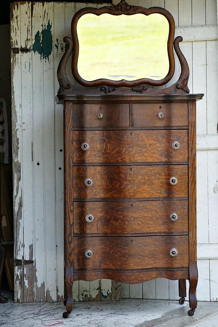 Antique Furniture Restored To It's Original Glory