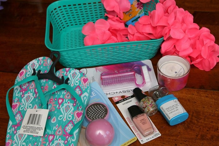 Pedicure Gift Basket Items From Dollar Tree